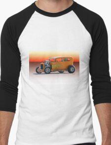 1928 Ford HiBoy Sedan Men's Baseball ¾ T-Shirt