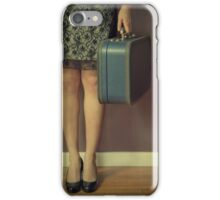 Never To Look Back iPhone Case/Skin