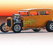 1928 Ford HiBoy Sedan by DaveKoontz
