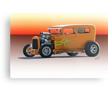 1928 Ford HiBoy Sedan Metal Print