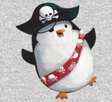 Cute Pirate Penguin Kids Clothes