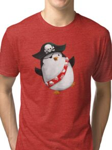 Cute Pirate Penguin Tri-blend T-Shirt