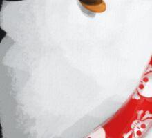 Cute Pirate Penguin Sticker