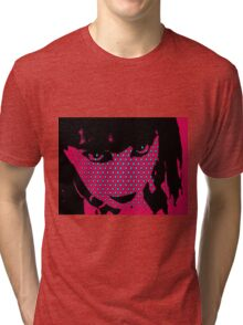 Abstract face 2 Tri-blend T-Shirt