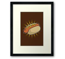 Hotdoggy Framed Print