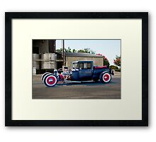 1928 Ford Pickup 'Light Load Quick Delivery' Framed Print