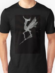 0027 - Brush and Ink - Call of the Morning Rooster T-Shirt