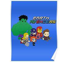 Earth Avengers Poster