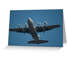 US Air Force Plane Greeting Card