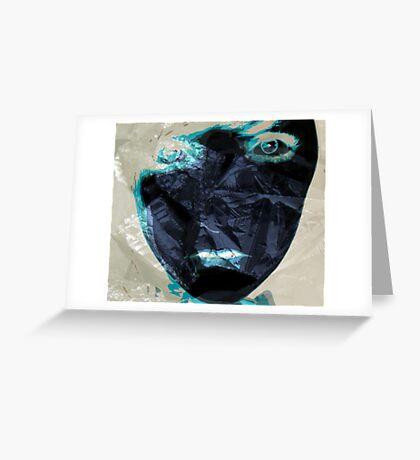 Crumpled Greeting Card