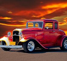 1932 Ford 5 Window Coupe by DaveKoontz