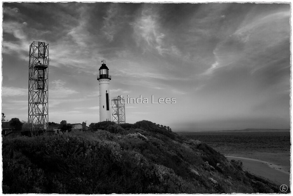 Queenscliff Lighthouse by Linda Lees