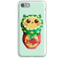 Little Matryoshka Cat Doll iPhone Case/Skin