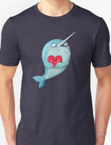 I love Narwhals Unisex T-Shirt