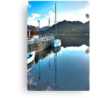 Down by the Dock Canvas Print
