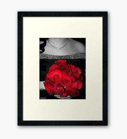 Future Bride Framed Print
