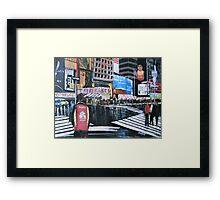 Broadway Shows, Manhattan, New York Framed Print
