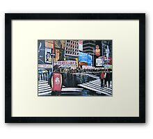 Broadway Shows, Manhattan, New York Framed Print