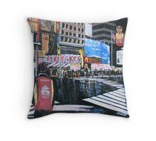 Broadway Shows, Manhattan, New York Throw Pillow