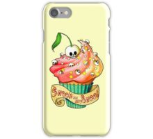 Sweet Skull Cupcake iPhone Case/Skin