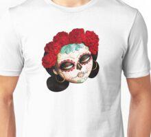 Dia de Los Muertos Beatiful Girl Unisex T-Shirt