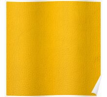 Yellow leather Poster