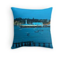 Eastern Beach Vista Throw Pillow