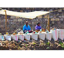 Street Spice Market in Nairobi, KENYA Photographic Print