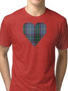00179 Laxey Manx Blue (District) Tri-blend T-Shirt