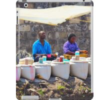 Street Spice Market in Nairobi, KENYA iPad Case/Skin