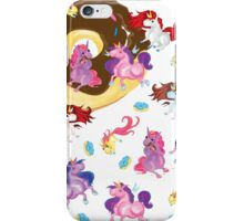 Fat unicorns and Donuts iPhone Case/Skin