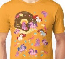 Fat unicorns and Donuts Unisex T-Shirt
