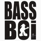 Bass Boi Tee 1 by Kev Moore