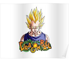 Vegeta Super Saiyan - Dragon Ball  Poster