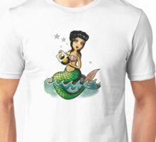 Old School Reggae Mermaid Unisex T-Shirt