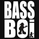 Bass Boi Tee 2 by Kev Moore