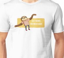 Rocksteady Sloth Unisex T-Shirt