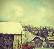Around Winter Barn 3 by picontagious