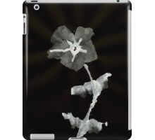 0031 - Brush and Ink - First Flower iPad Case/Skin