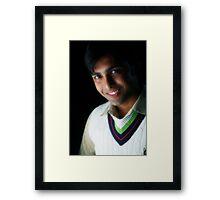 Sourav My Friend Framed Print