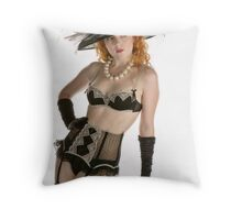 Holly...not just a Nude Model Throw Pillow