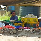 Family street market in Nairobi, KENYA by Atanas NASKO