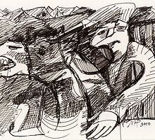 The Rider by Maya Hiort Petersen