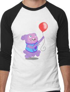 Ohs Balloon Men's Baseball ¾ T-Shirt