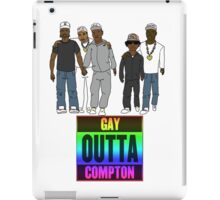 Gay Outta Compton iPad Case/Skin