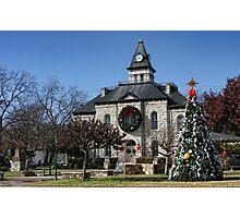 Christmas in Glen Rose Photographic Print