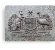 Crest of Australia Canvas Print