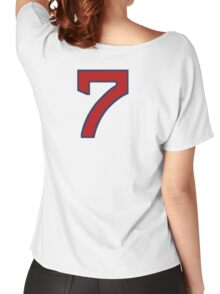 #7 Women's Relaxed Fit T-Shirt