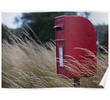 Royal Mail Post Box Poster