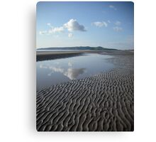 Portmarnock Beach ,co,dublin Canvas Print